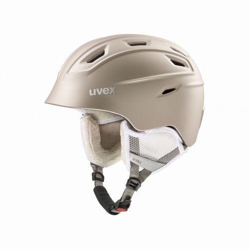 UVEX kask narciarski Fierce - prosecco met mat (55-59 cm), 56/6/225/91/05