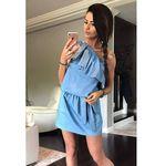 Sukienka niebieski 41007-3, Yns