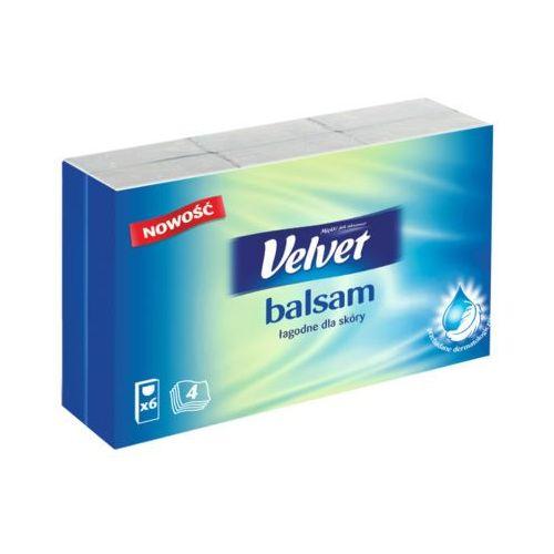 Velvet 6x9szt balsam chusteczki higieniczne