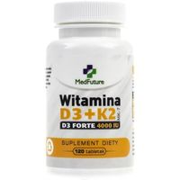 MedFuture Witamina D3 + K2 Forte - 120 tabletek (5905669222815)