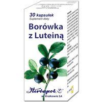 Kapsułki Borówka z luteiną - 30 kaps.