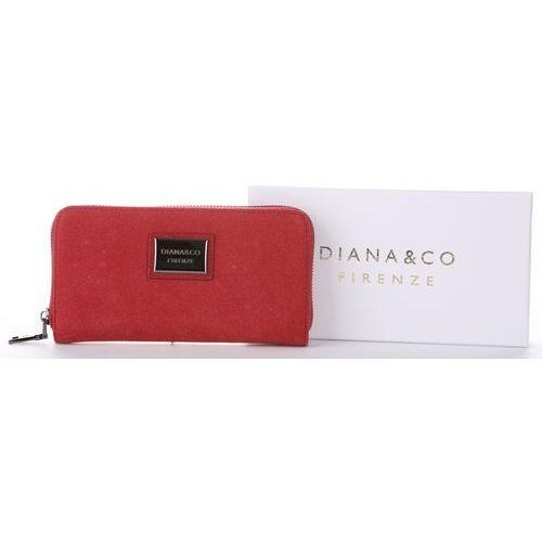 9933df6acccec Damski Portfel Diana amp Co Firenze Czerwony (kolory) (Diana Co ...