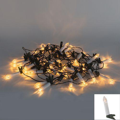 Oswietlenie swiateczne lancuch swietlny 45 swieczek barwa ciepla 11 m Diverse