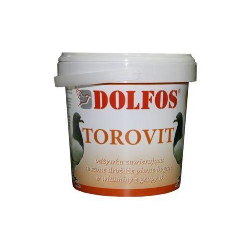 dg torovit - odżywka z drożdżami piwnymi dla gołębi torebka 1kg marki Dolfos