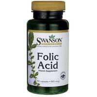 Kapsułki Swanson Kwas foliowy (Folic Acid) 250 kaps.