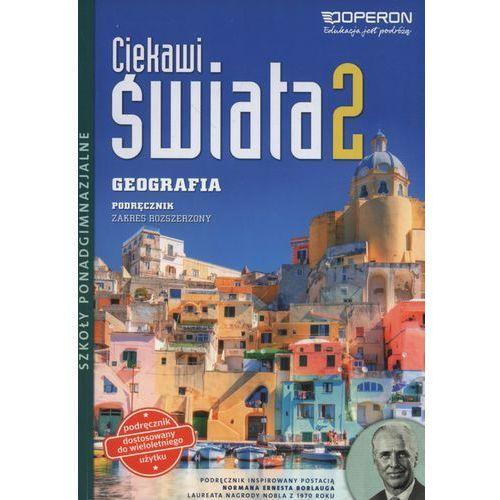 Ciekawi świata 2 Geografia Podręcznik zakres rozszerzony - Janusz Stasiak (264 str.)
