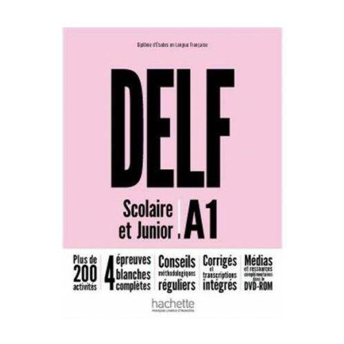 DELF A1 Scolaire & Junior NE podręcznik +DVD-Rom (2018)