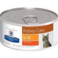 Hill's pd prescription diet feline k/d - puszka (pasztet) 12 x 156g kurczak marki Hills prescription diet
