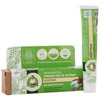 BABUSZKA AGAFII 75ml Organiczna pasta do zębów - cedrowa - zapobiega rozwojowi próchnicy