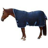 Kerbl Derka dla konia RugBe HighNeck, niebieska, 145 cm, 328666