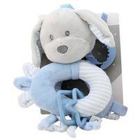 New Baby Zawieszka z dodatkami-Piesek niebieski