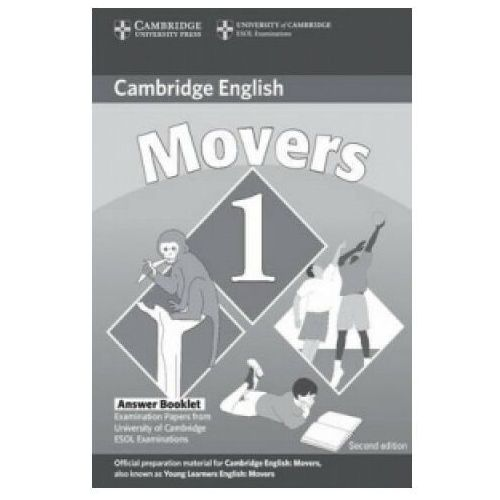 Cambridge Young Learners English Tests Movers 1 Answer Booklet, oprawa miękka