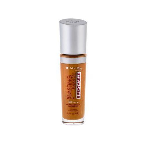 Rimmel London Lasting Finish Breathable 25HR SPF20 podkład 30 ml dla kobiet 503 Mocha - Bardzo popularne
