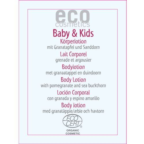 Eco cosmetics Baby & kids balsam dla dzieci z owocem granatu i rokitnikiem 5 ml