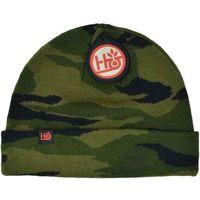 czapka zimowa HABITAT - Hb Locust Camo (ZELENA)
