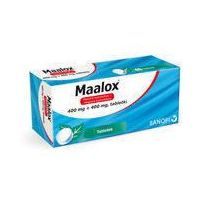 Tabletki MAALOX x 20 tabletek