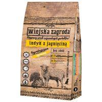 Wiejska zagroda indyk z jagnięciną, waga: 9kg -- ekspresowa wysyłka -- (5906874201121)