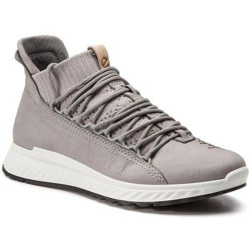Sneakersy - st.1 women's 83611356155 wild dove/moon rock marki Ecco