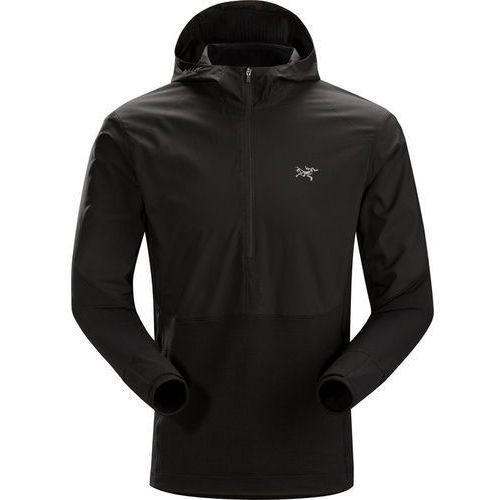 Arc'teryx Aptin Bluza z zamkiem błyskawicznym Mężczyźni, black L 2019 Koszulki do biegania, kolor czarny