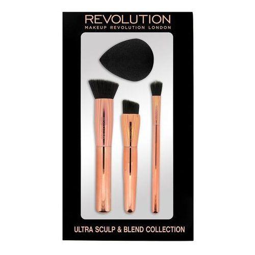 Makeup Revolution Ultra Sculpt & Blend Collection Zestaw Akcesoriów do makijażu 1op., 735438 - Rewelacyjny upust