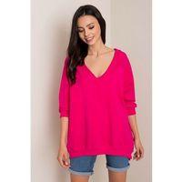 Bluza dresowa damska różowa 8F41AP Oferta ważna tylko do 2031-09-24