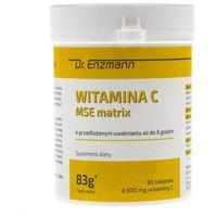 Tabletki Dr. Enzmann Witamina C MSE matrix 500 mg - 90 tabletek