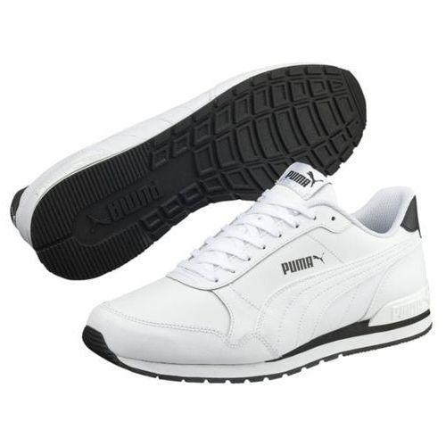 Sneakersy PUMA St Runner v2 L Jr 366959 02 Puma WhiteGray Violet