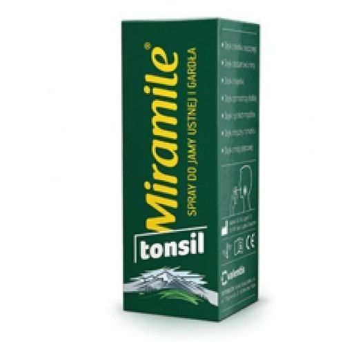 MIRAMILE TONSIL Spray do jamy ustnej i gardła 30ml
