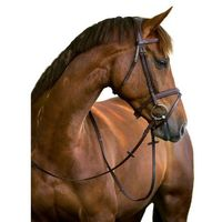 ogłowie wędzidłowe classic, skóra, brązowe, rozmiar pony, 324911 marki Kerbl