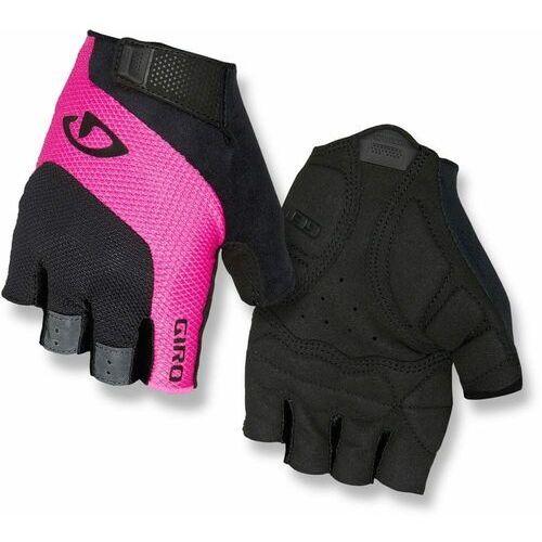 Giro rękawiczki rowerowe damskie tessa, black/pink s