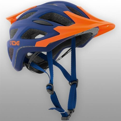 Tsg Kask - substance 3.0 solid color flat blue orange (372) rozmiar: l/xl