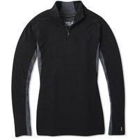 SMARTWOOL Bluza W Merino Sport 250 Ls 1/4 Zip Black M