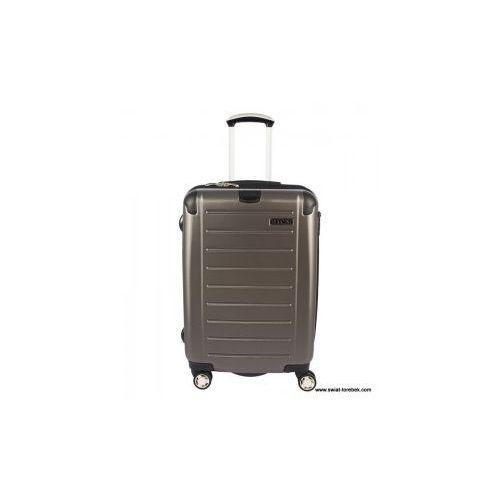 ed23d7716fbe1 walizka duża z kolekcji pc016 twarda 4 koła materiał policarbonite zamek  szyfrowy z systemem tsa możliwość
