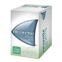 Nicorette Classic Gum guma do żucia lecz. 2 mg 105 szt. (5909990502431)
