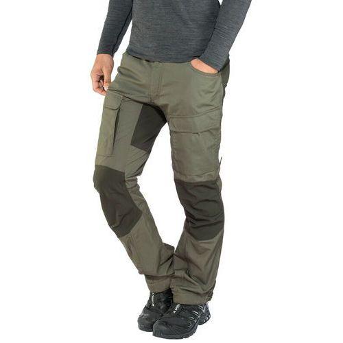Lundhags Authentic II Spodnie długie Mężczyźni Regular oliwkowy 48-standardowe 2018 Spodnie turystyczne, proste