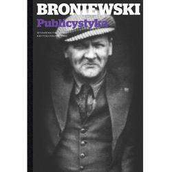 Felietony  Władysław Broniewski