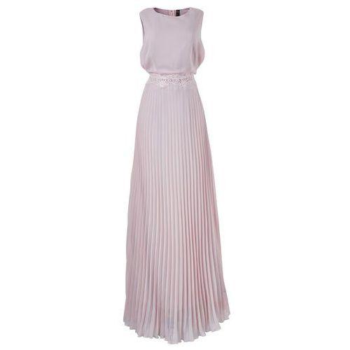 Bonprix Sukienka w kolorze bzu