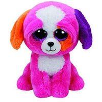 Maskotka różowy pies ty beanie boos precious 24 cm marki Meteor