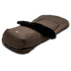 MOON Śpiworek na nóżki brown/fishbone