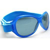 Okulary przeciwsłoneczne UV dzieci 2-5lat RETRO BANZ - Blue