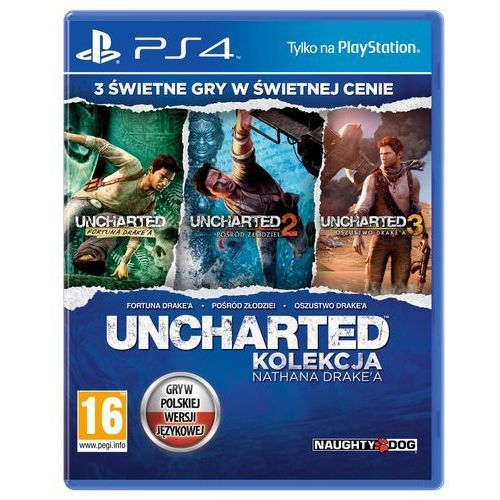 Uncharted: kolekcja nathana drake'a marki Sony