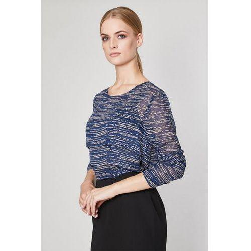 0ec953983895 Click Fashion Bluzka model leona 10775 navy