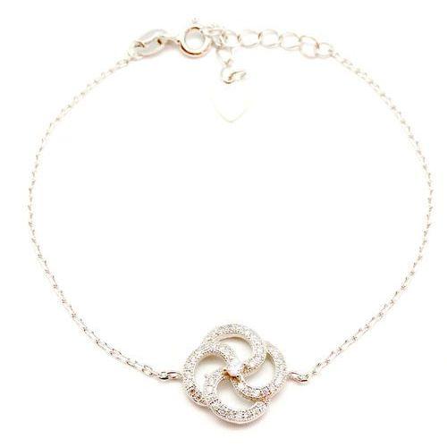 a6c95744e1f61b Bransoletka srebrna sb.027.03 biżuteria damska ze srebra (SAXO ...
