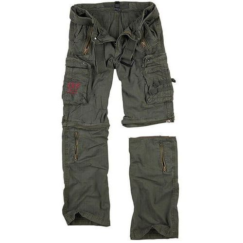 Surplus spodnie trekkingowe royal outback 2w1 olive - olive