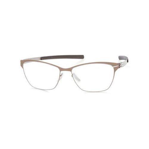 Okulary korekcyjne m1328 rosemarie s. brown mud Ic! berlin