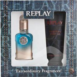 Zestawy zapachowe dla mężczyzn  Replay OnlinePerfumy.pl