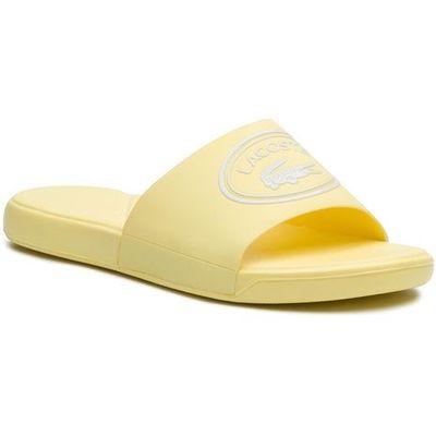 1737ef2afab97 Klapki LACOSTE - L.30 Slide 119 1 Cuj 7-37CUJ0010241 Light Yellow/White, w  3 rozmiarach eobuwie.pl