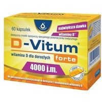 Kapsułki D-Vitum Forte Witamina D3 4000IU 60 kaps.