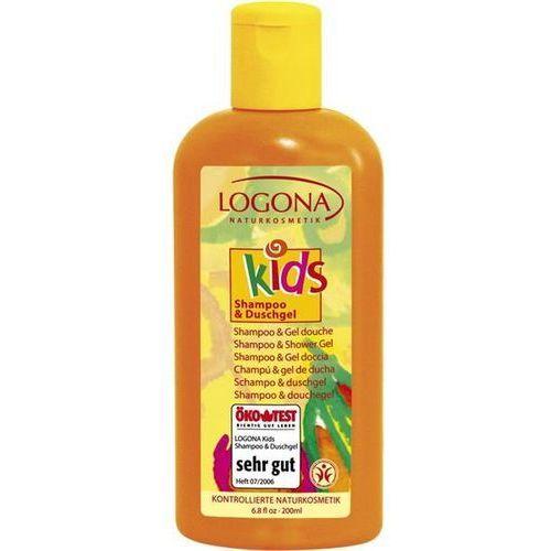 Kids szampon i żel pod prysznic dla dzieci Logona