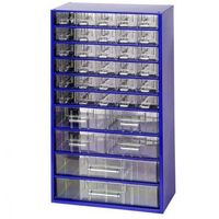 Metalowe szafki z szufladami, 30+4+2 szuflad marki Mars